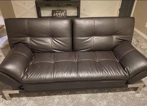 Leather Futon for Sale in Peoria, AZ