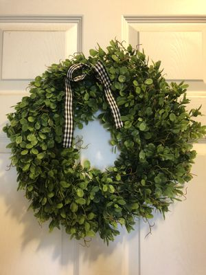"""PRETTY, 16' GREENERY WREATH "" with bow ~~NEW~~ for Sale in Grover Beach, CA"