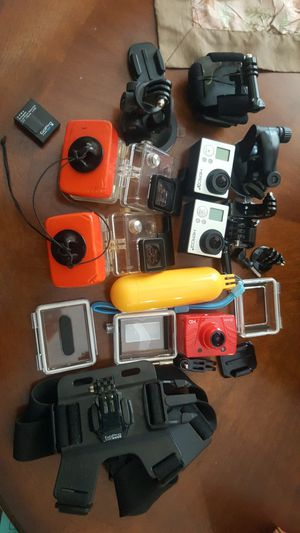 GoPro 3+ Black, GoPro 3+ Silver and accessories for Sale in Miami, FL