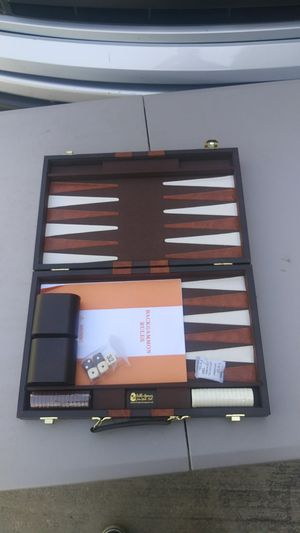 Leather case Backgammon for Sale in San Diego, CA