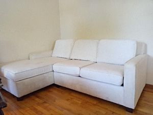 White sectional couches for Sale in Kaukauna, WI