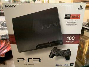 PS3 160gb w/2control for Sale in Miami, FL