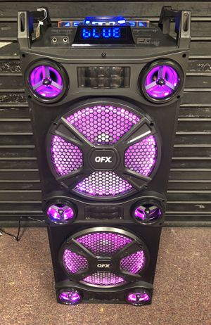 Bluetooth speaker 🔊 karaoke 🎤 for Sale in Gaithersburg, MD