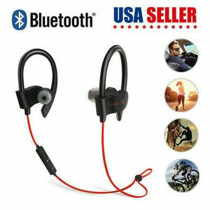 Wireless Bluetooth 4.1 Sport Sweatproof Stereo Earbuds Earphone For Cell Phone for Sale in Los Angeles, CA