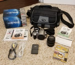 Canon Digital Rebel XT EOS Camera - Complete Kit - Excellent Condition for Sale in Saginaw, TX