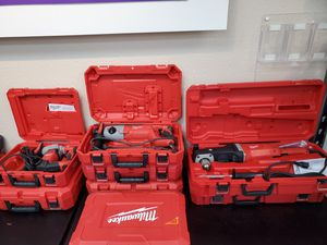 Milwaukee corded tools 80$-200$!! for Sale in Fort Worth, TX
