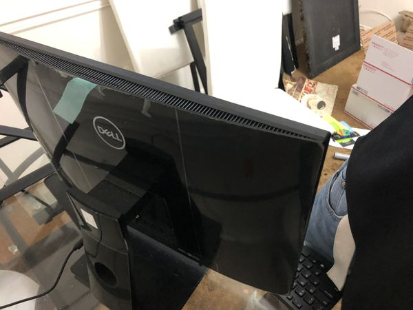 Dell all in one desktop computer.