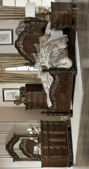 ☄Shock price☄[SPECIAL] Catalonia Cherry Panel Bedroom Set for Sale in Jessup, MD
