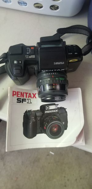 Pentax SF1 35mm Camera for Sale in San Jose, CA