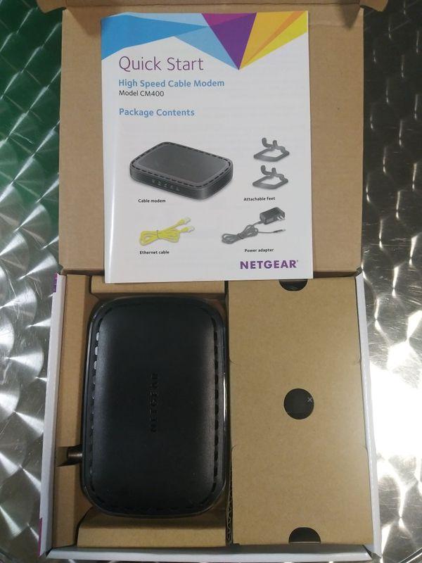 Netgear CM400 High Speed Cable Modem