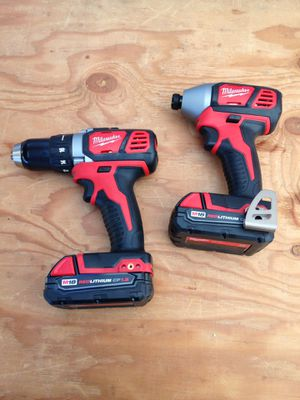 Milwaukee M18 drill set for Sale in Los Angeles, CA