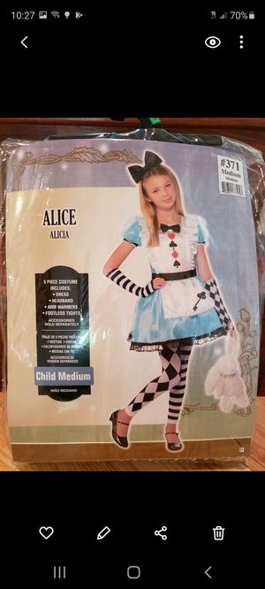 Alice in wonderland costume for Sale in Lake Worth, FL