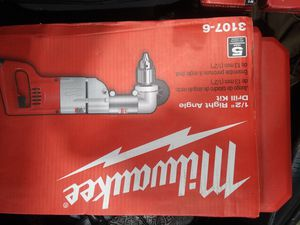 """Milwaukee 1/2 """" Right Angle Drill Kit for Sale in Nashville, TN"""