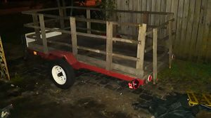 Small utility trailer 4×8 for Sale in Palm Springs, FL