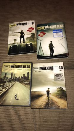 Walking dead season 1 threw 4 for Sale in San Angelo,  TX