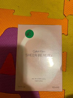Calvin klein sheer beauty 3.4 oz for Sale in Diamond Bar, CA