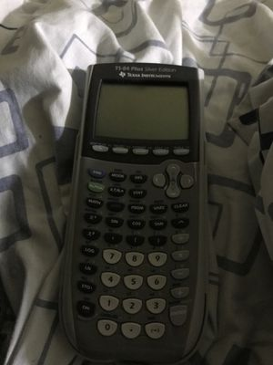 Ti-84 graphing calculator silver edition for Sale in Brooklyn, NY