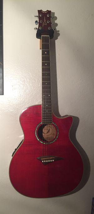 Dean Exotica FM A/E Trans Red Acoustic/Electric Guitar for Sale in Phoenix, AZ