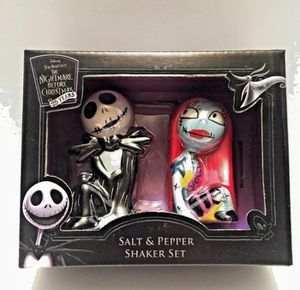 NIGHTMARE BEFORE CHRISTMAS salt and pepper shakers. for Sale in Henderson, NV
