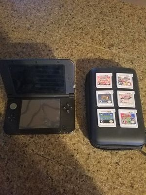 Nintendo 3DS XL with 6 games for Sale in Marysville, WA
