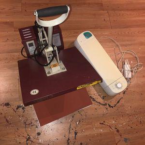 Heat press and logo printer for Sale in Philadelphia, PA