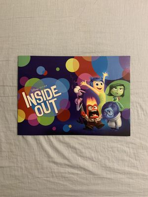 Inside Out Disney Posters for Sale in San Jose, CA