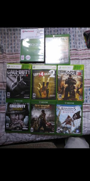 Xbox one and 360 games for Sale in Anaheim, CA