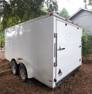 2017 V Nose Cargo Trailer, Enclosed, Dual Axle for Sale in Portland, OR