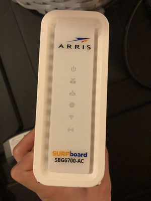 FREE for an purchase over $100 arris modem and router 2 in 1 for Sale in Urbana, IL