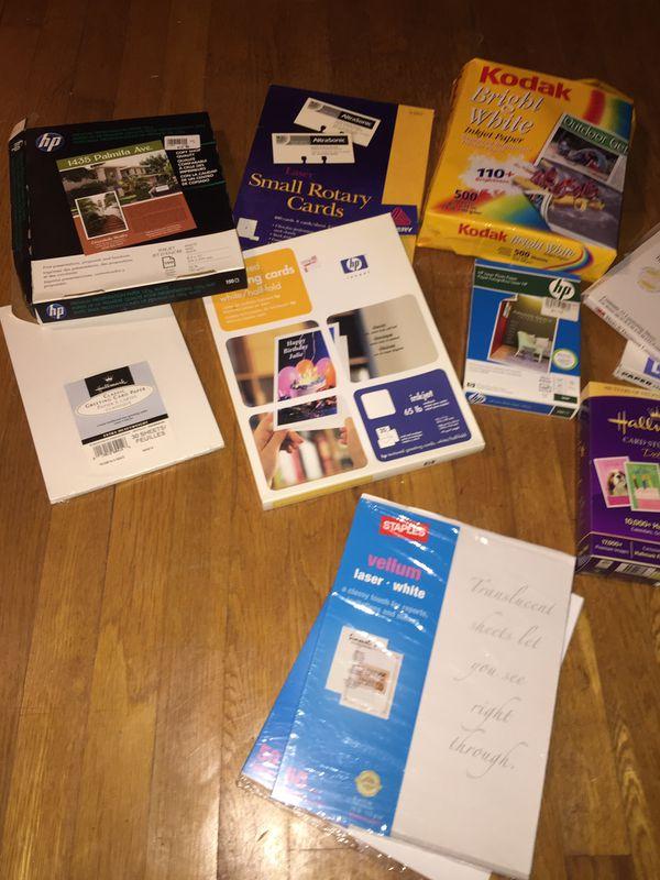 Printing/ photo supplies