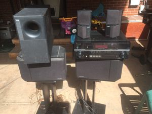 Bose speakers and Pioneer Receiver for Sale in Denver, CO
