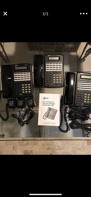 AT&T 4-LINE OFFICE PHONES for Sale in Kendale Lakes, FL