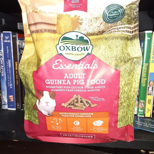 New Unopened Bag Of Guinea Pig Food