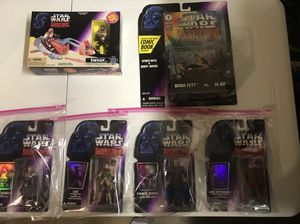 Star Wars Shadow of the empire 1995 Action Figures. for Sale in Trenton, OH