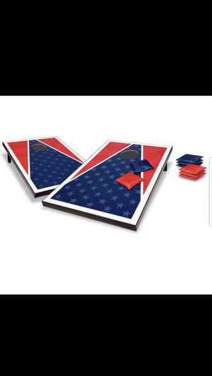 Rec League Red White and Blue 2' x 3' Cornhole Boards and 8 Bean Bags for Sale in Los Angeles, CA