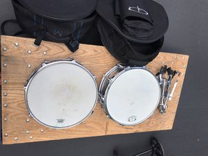 2 drums and one stand for Sale in Renton, WA