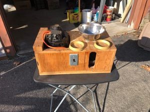Homemade electric motor powered bowling ball spinner for Sale in Nashua, NH