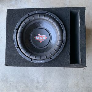 Lanzar Max Pro 1200 Watts 10 Inch Subwoofer for Sale in Fresno, CA