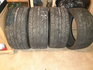 24in low pro tires for Sale in Portland, OR