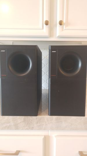 Two Bose Passive Subwoofer for Sale in Fontana, CA