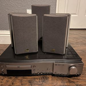 Onkyo DVD Receiver With 5 Speakers Surround Sound for Sale in Campbell, CA