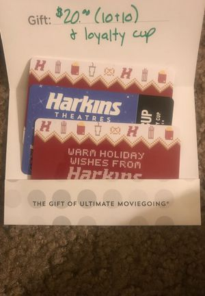 $20 Harmon's Gift Card with loyalty cup for Sale in Phoenix, AZ