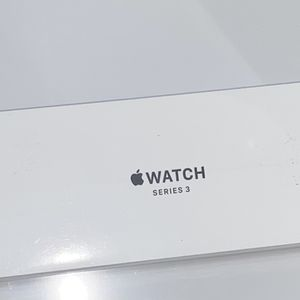 Apple Watch Series 3 38mm Silver With White Sport Band for Sale in Conyers, GA