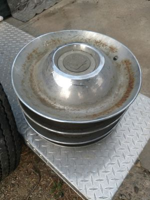 4 1947 Cadillac Hubcaps for Sale in Wenatchee, WA