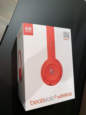 Beats solo wireless 3 for Sale in Santa Clarita, CA