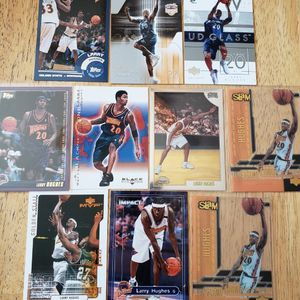 Larry Hughes 76ers Warriors Wizards NBA basketball cards for Sale in Gresham, OR