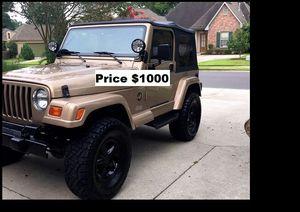 ֆ1OOO_1999 Jeep Wrengler for Sale in CA, US