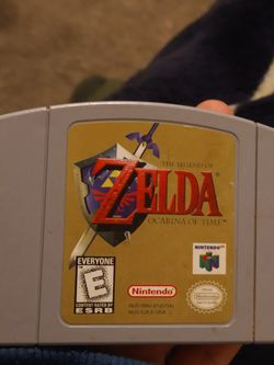 Legend Of Zelda Nintendo 64 for Sale in Portland,  OR