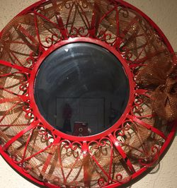 Antique Red Mirrow 18 Dimension for Sale in Arlington,  TX