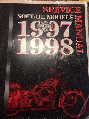 1998 Harley-Davidson softail Service manual for Sale in Pittsburgh, PA